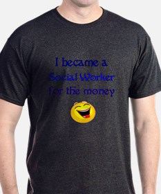 Laughing Social Worker T-Shirt