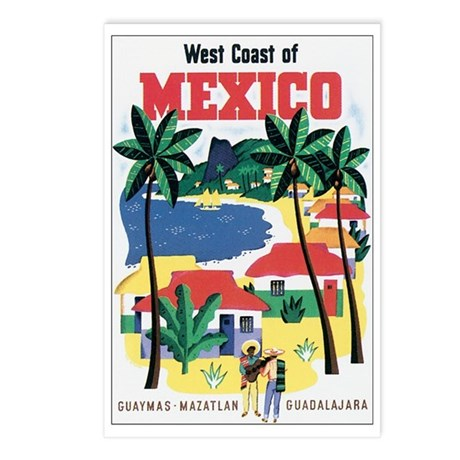 Mexico Travel Postcards (Package of 8)