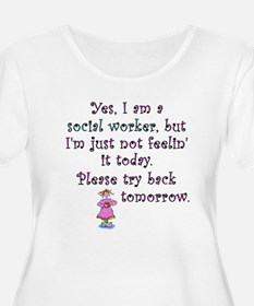 Try Back Tomorrow Pink T-Shirt
