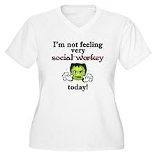 Not Social-Workey Today T-Shirt