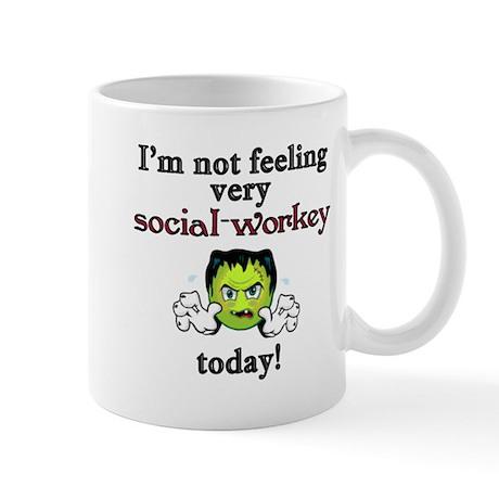 Not Social-Workey Today Mug
