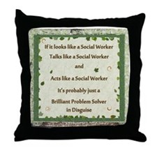 Problem Solver Throw Pillow