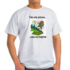 leave only footprints T-Shirt