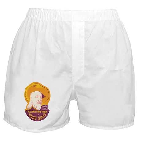 Yellowstone Park WY Boxer Shorts