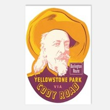 Yellowstone Park WY Postcards (Package of 8)