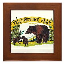 YELLOWSTONE PARK Framed Tile