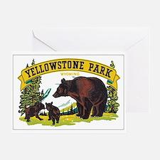 YELLOWSTONE PARK Greeting Card