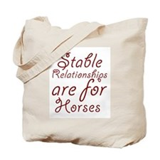 Stable Relationships Tote Bag