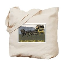 YELLOWSTONE PARK Tote Bag