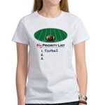 Priority Football Women's T-Shirt