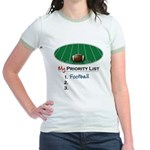 Priority Football Jr. Ringer T-Shirt