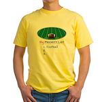 Priority Football Yellow T-Shirt