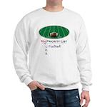 Priority Football Sweatshirt