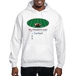 Priority Football Hooded Sweatshirt