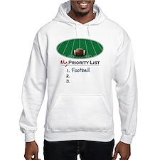 Priority Football Hoodie