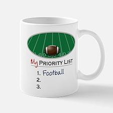 Priority Football Mug