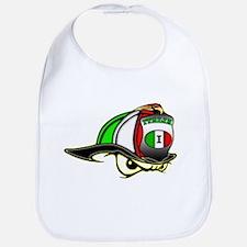 Italian Helmet Bib