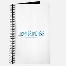 Don't Belong Here Journal