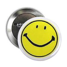 """2.25"""" Smiley Face Button"""