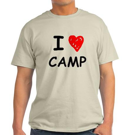 I Heart Camp Light T-Shirt