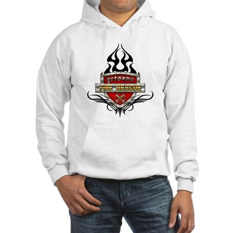 Fire Rescue Shield Hooded Sweatshirt