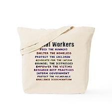 Social Workers WorkTote Bag