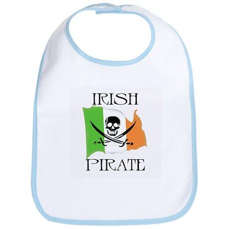 Irish Pirate Flag Bib