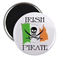 Irish Pirate Flag Magnet
