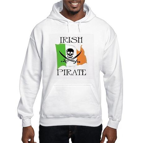 Irish Pirate Flag Hooded Sweatshirt