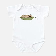 Caucasian Triplets Infant Bodysuit