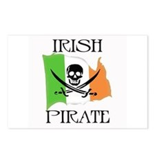 Irish Pirate Flag Postcards (Package of 8)