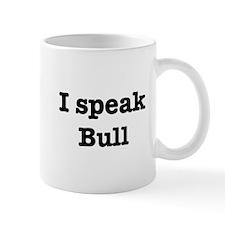 I speak Bull Mug