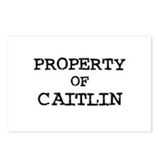 Property of Caitlin Postcards (Package of 8)