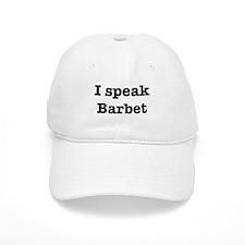 I speak Barbet Baseball Cap