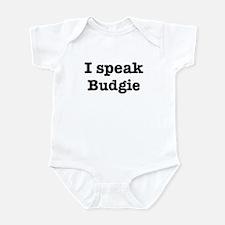 I speak Budgie Infant Bodysuit