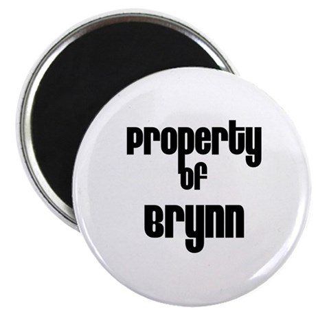 """Property of Brynn 2.25"""" Magnet (10 pack)"""