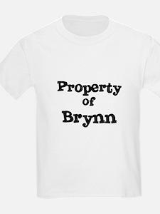 Property of Brynn Kids T-Shirt