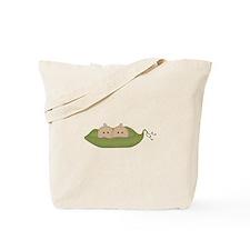 Caucasian Twins Tote Bag