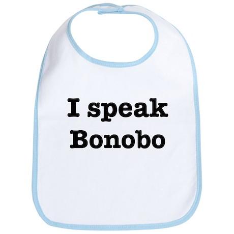 I speak Bonobo Bib