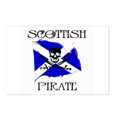 Scottish Pirate Postcards (Package of 8)