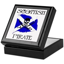 Scottish Pirate Keepsake Box