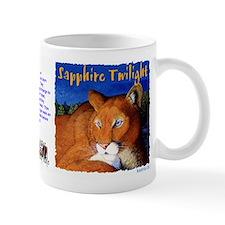 Sapphire Twilight - cougar (mug) Mugs