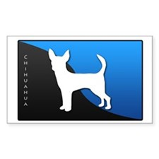 Chihuahua Rectangle Decal