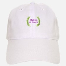 Matron of Honor (ferns) Baseball Baseball Cap