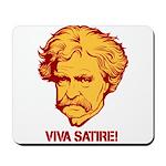 Twain Viva Satire Mousepad