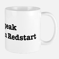 I speak American Redstart Mug