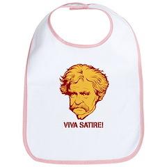 Twain Viva Satire Bib