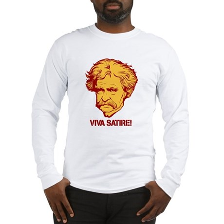 Twain Viva Satire Long Sleeve T-Shirt