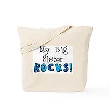 My Big Sister Rocks! Tote Bag
