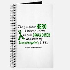 Hero I Never Knew 1 (Granddaughter) Journal